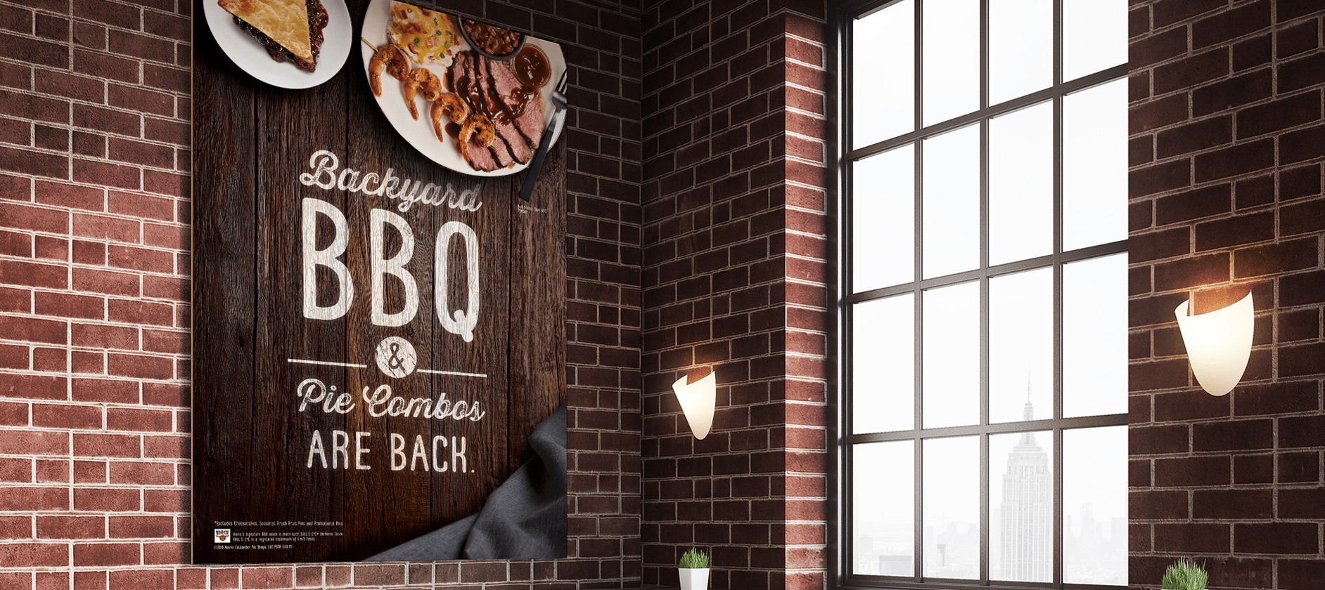marie callenders bbq poster