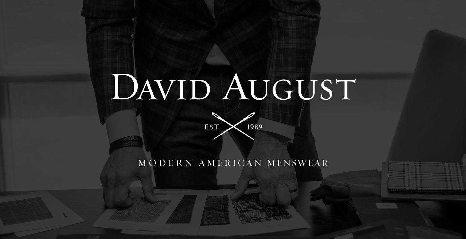david august logo refresh full logo mark design