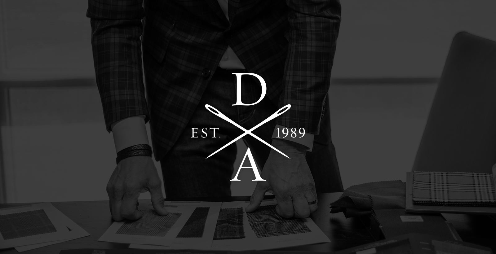 david august logo refresh needle badge