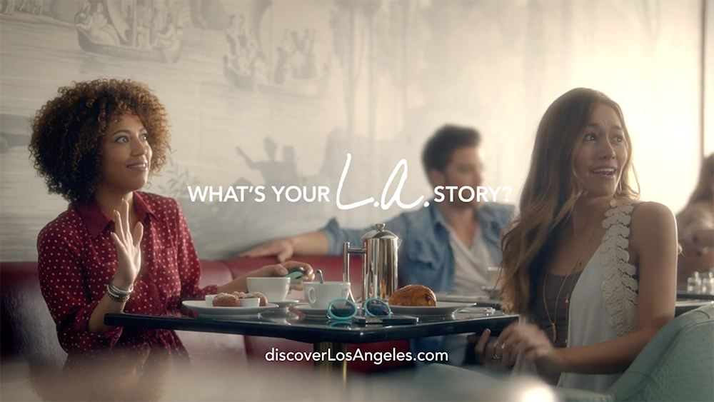LA Tourism - LA Story Commercial Celebrity Sighting End Frame