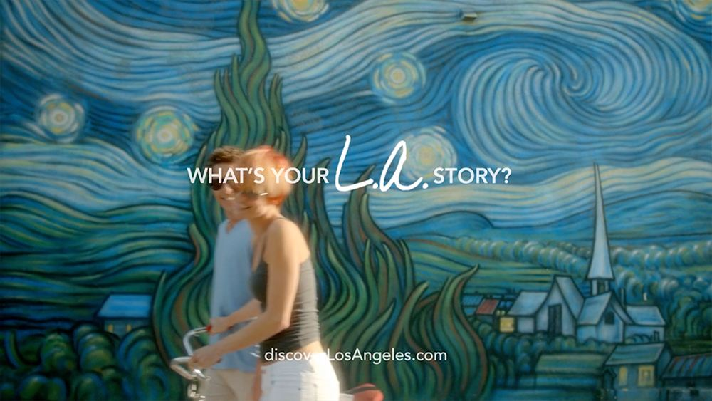 LA Tourism - LA Story Commercial Getty Couple End Frame