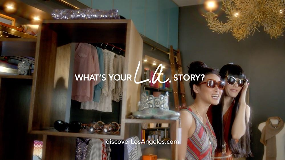 LA Tourism - LA Story Commercial Asian girls shopping