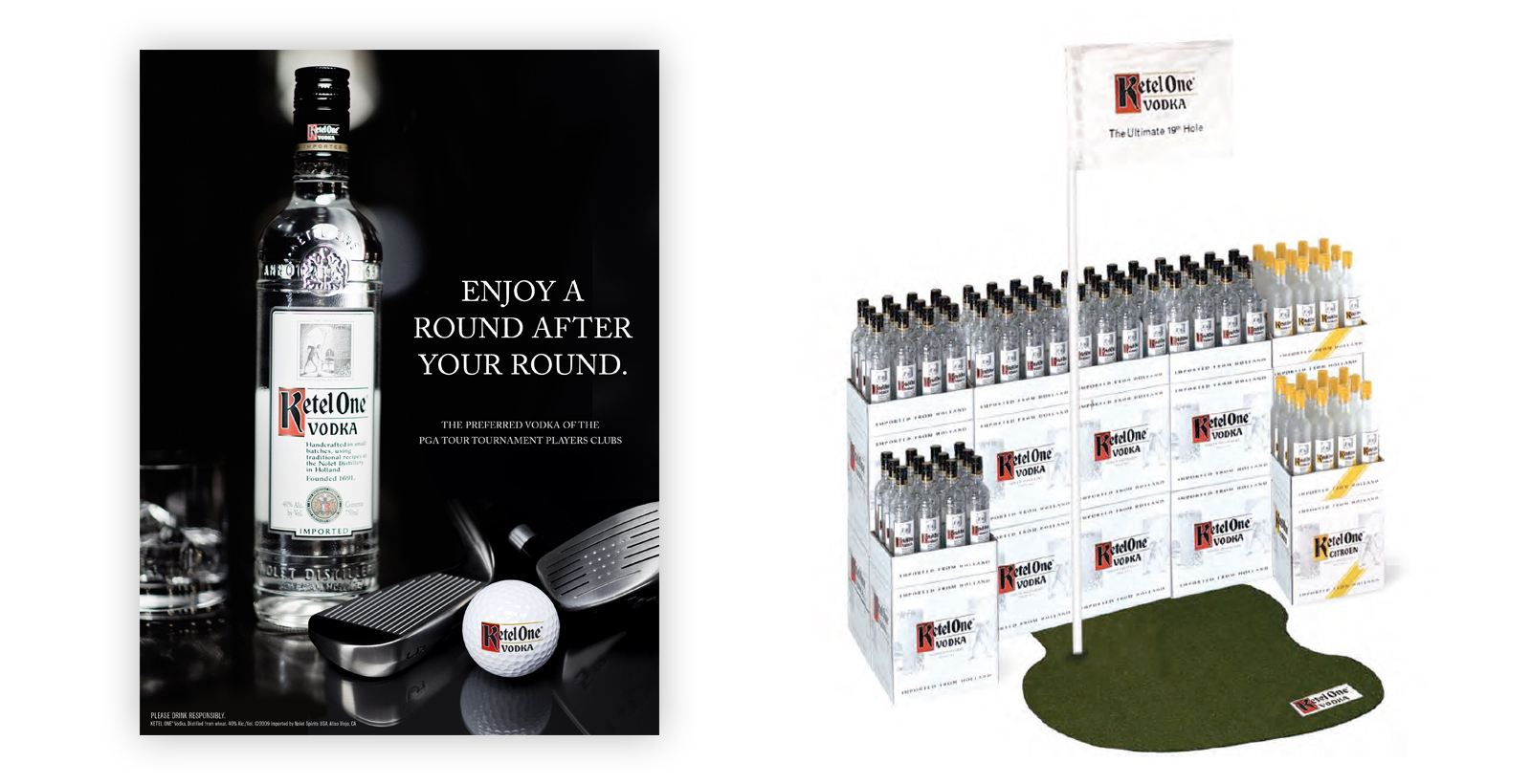 ketel one point of sale golf